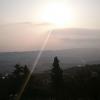 【目撃!】朝日が水平線から光の矢を放つ!